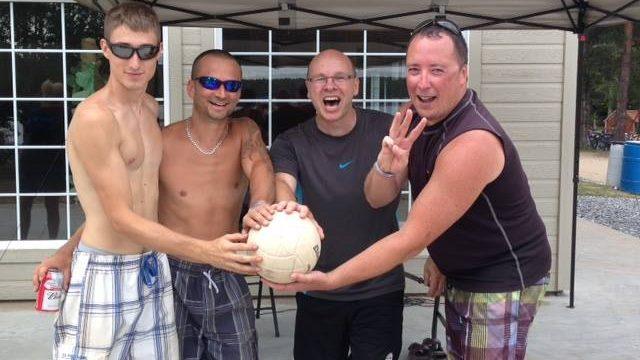 Compétition amicale de Volley-Ball de plage