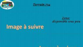 Terrain 734